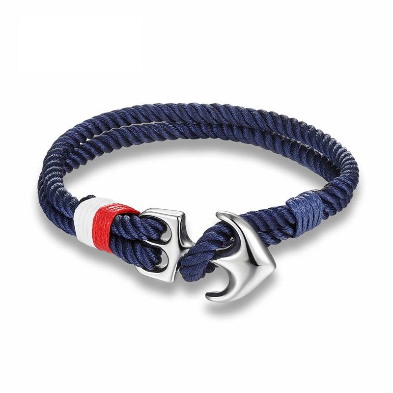 bracelet ancre pour homme